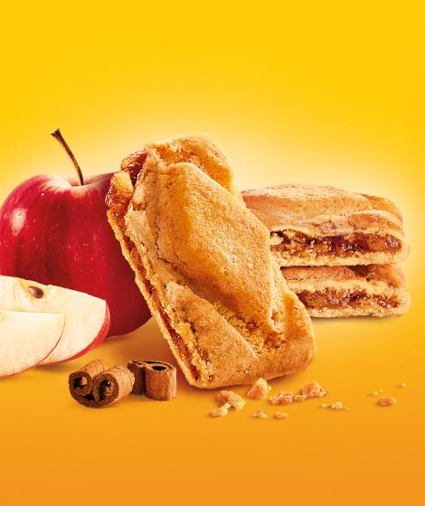 """печенье с начинкой яблоко Roshen """"Karolina"""""""