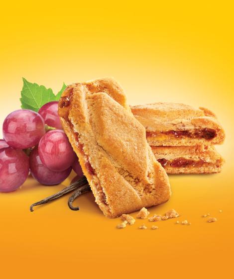 """печенье с начинкой виноград Roshen """"Karolina"""""""