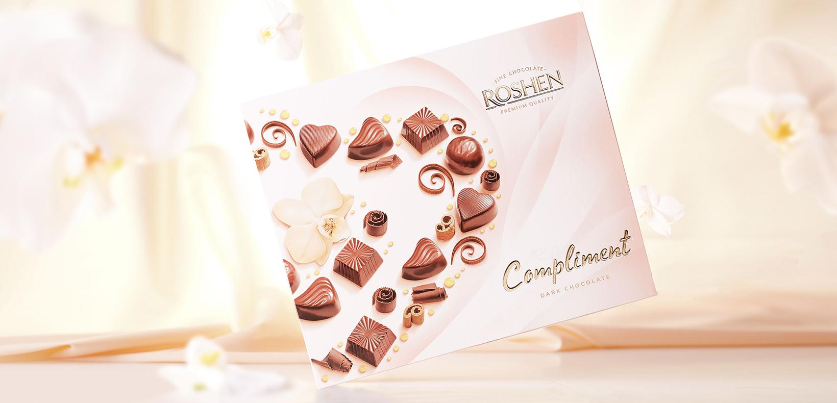 "коробка конфет Roshen ""Compliment"""