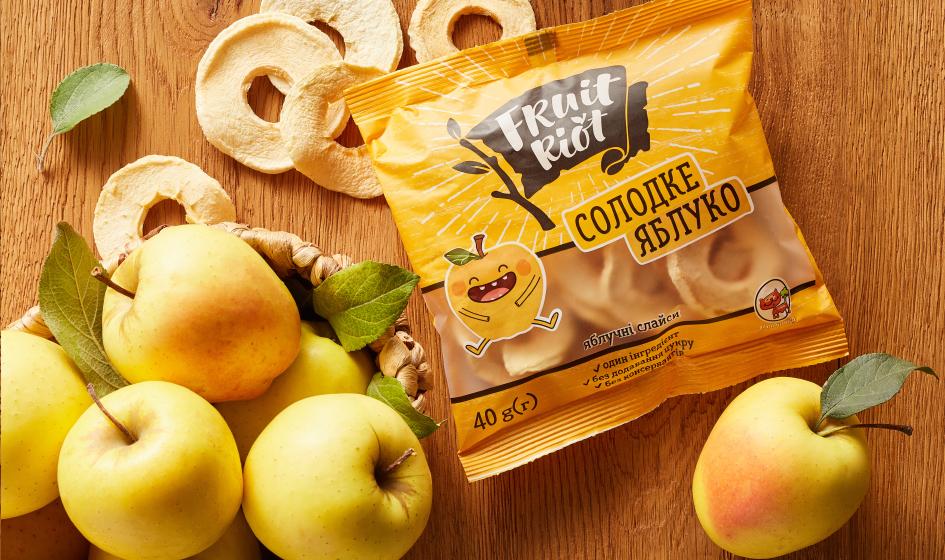упаковка Fruit Riot сладкое яблоко