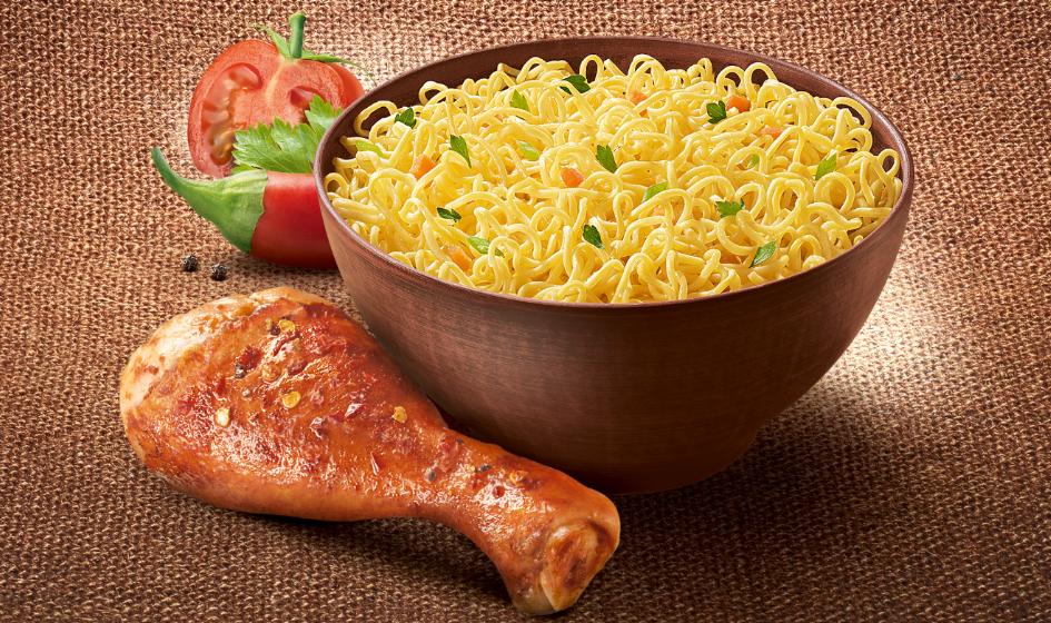 продуктовое изображение лапша Мивина с курицой