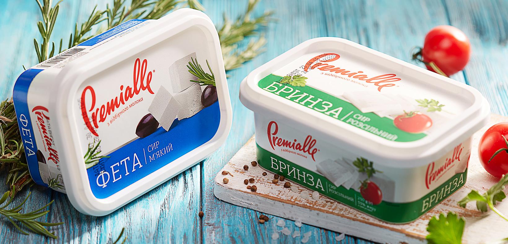упаковка мягкого сыра Premialle