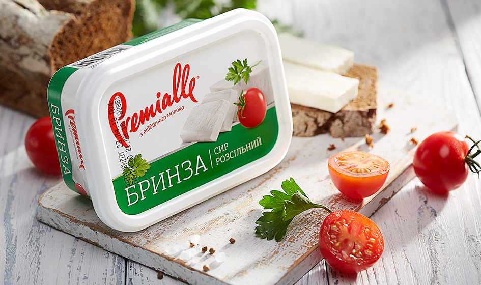 упаковка сыра брынза Premialle