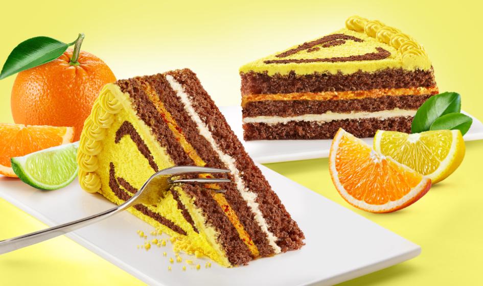 лимонный торт Roshen