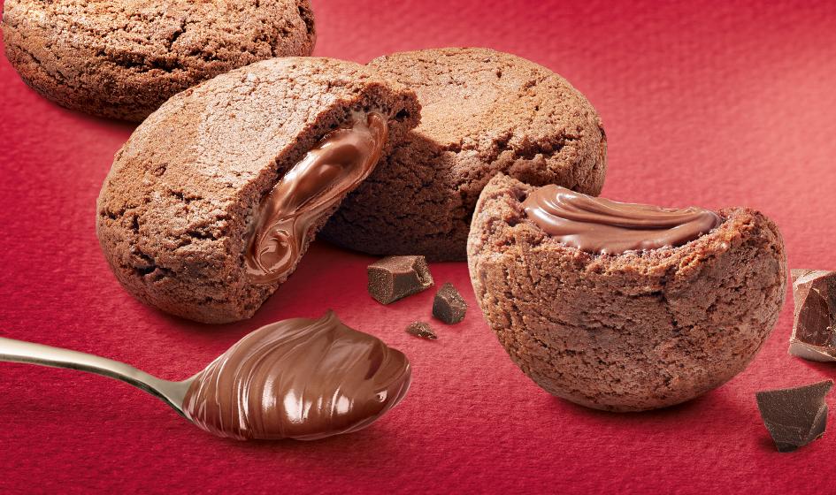 """продуктовое изображение шоколадное печенье Roshen """"Esmeralda"""""""