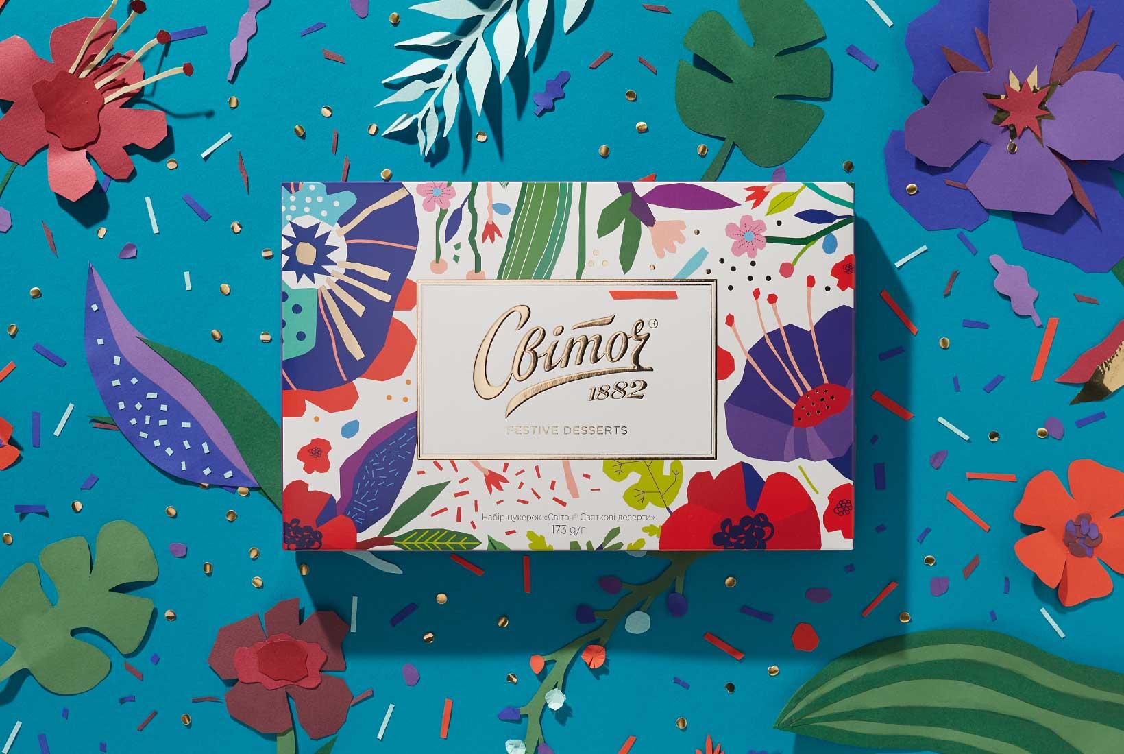 упаковка конфет Свиточ десерт