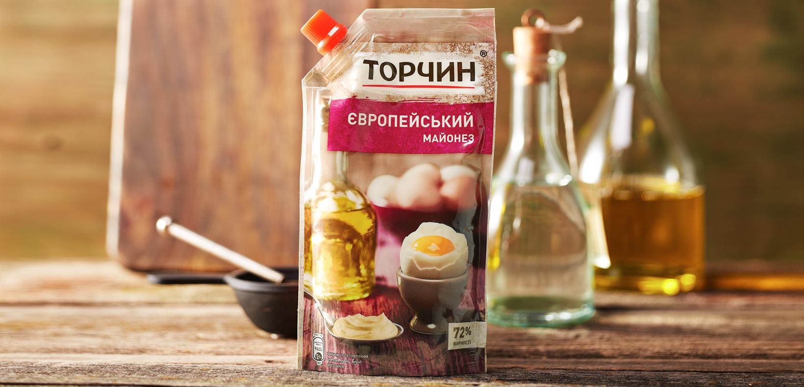 """упаковка майонез """"Торчин"""" европейский"""