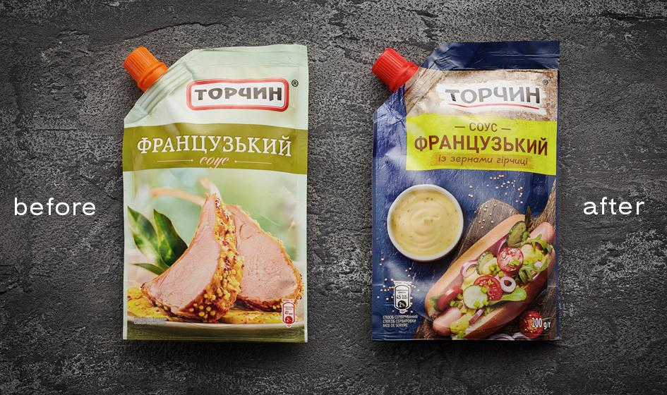 упаковка Торчин французский соус