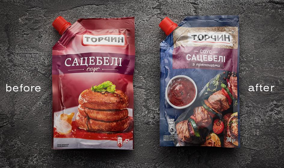 упаковка Торчин соус сацебели
