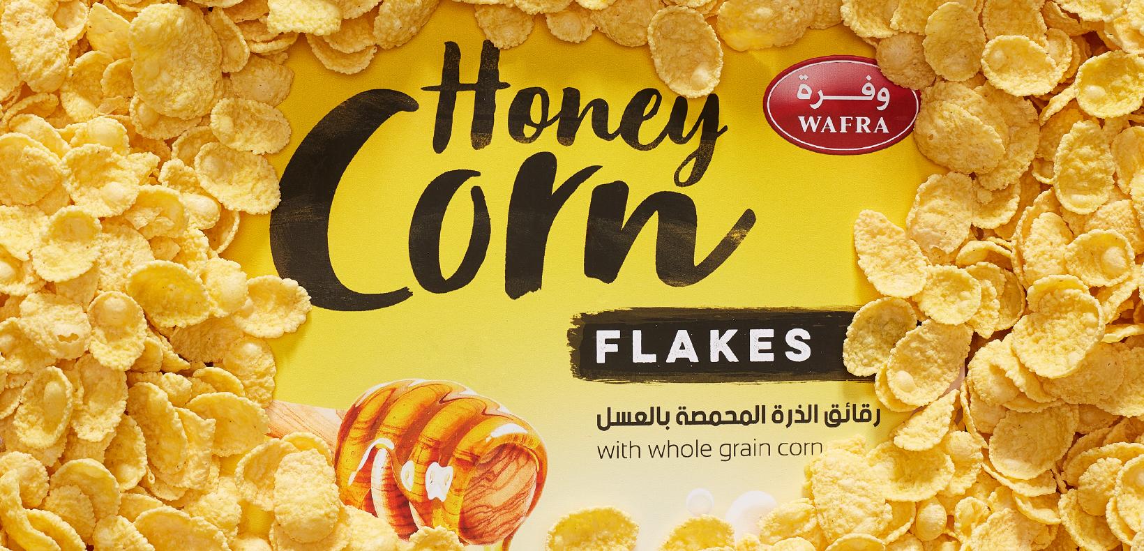 кукурузные хлопья логотип
