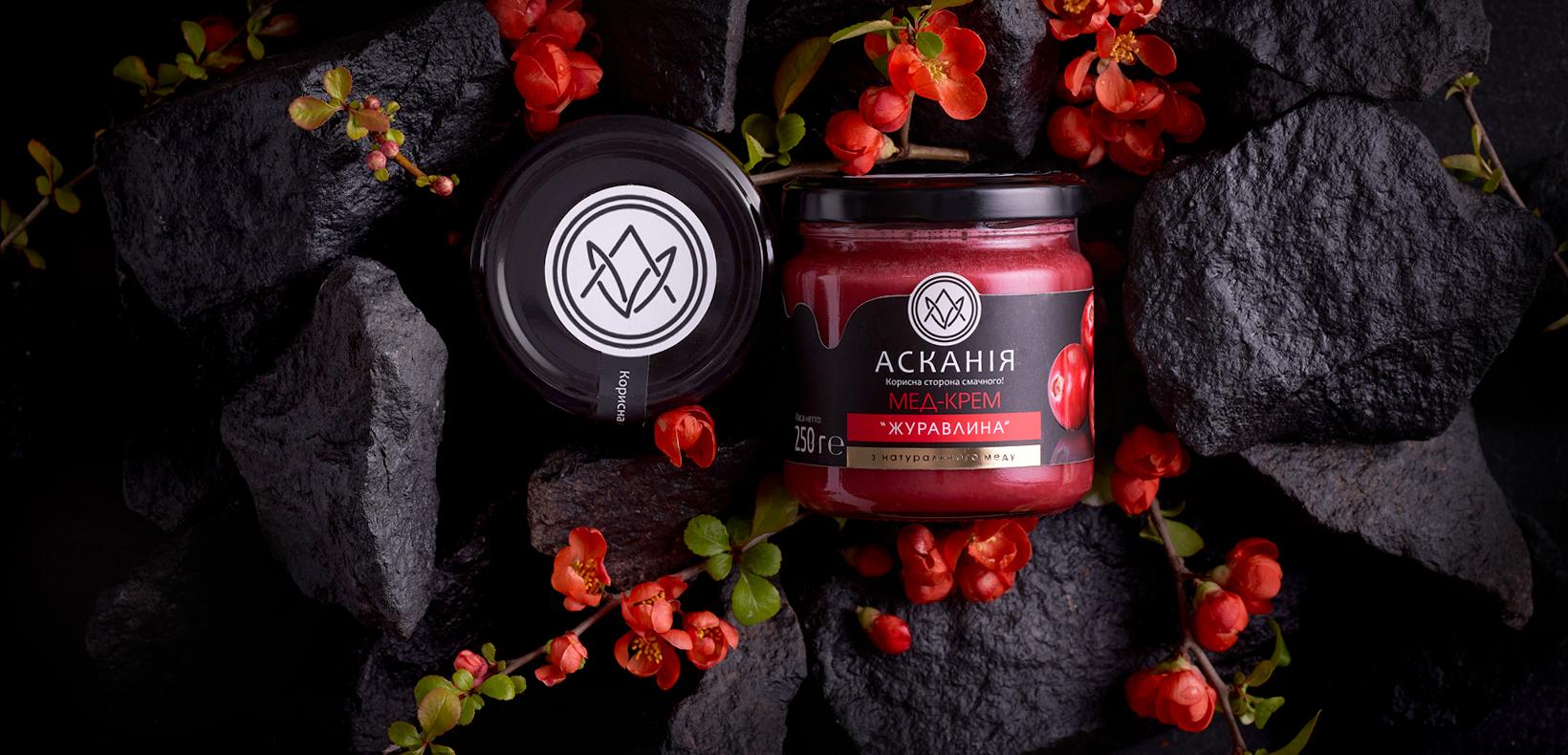 упаковка крем-меда Ascania