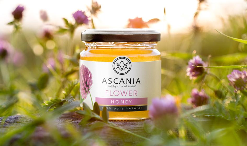 упаковка меда Ascania луг