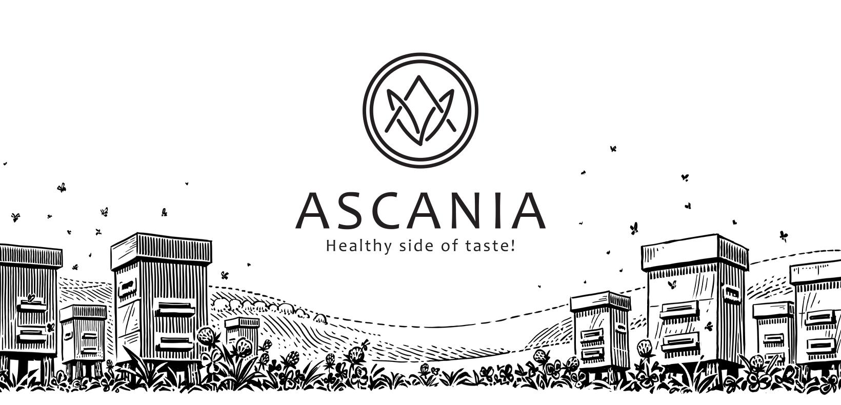логотип Асания пасека мед