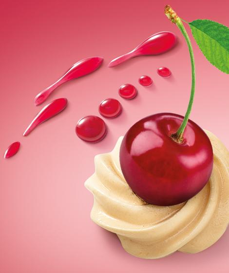 продуктовое демо вишня Roshen бисквиты