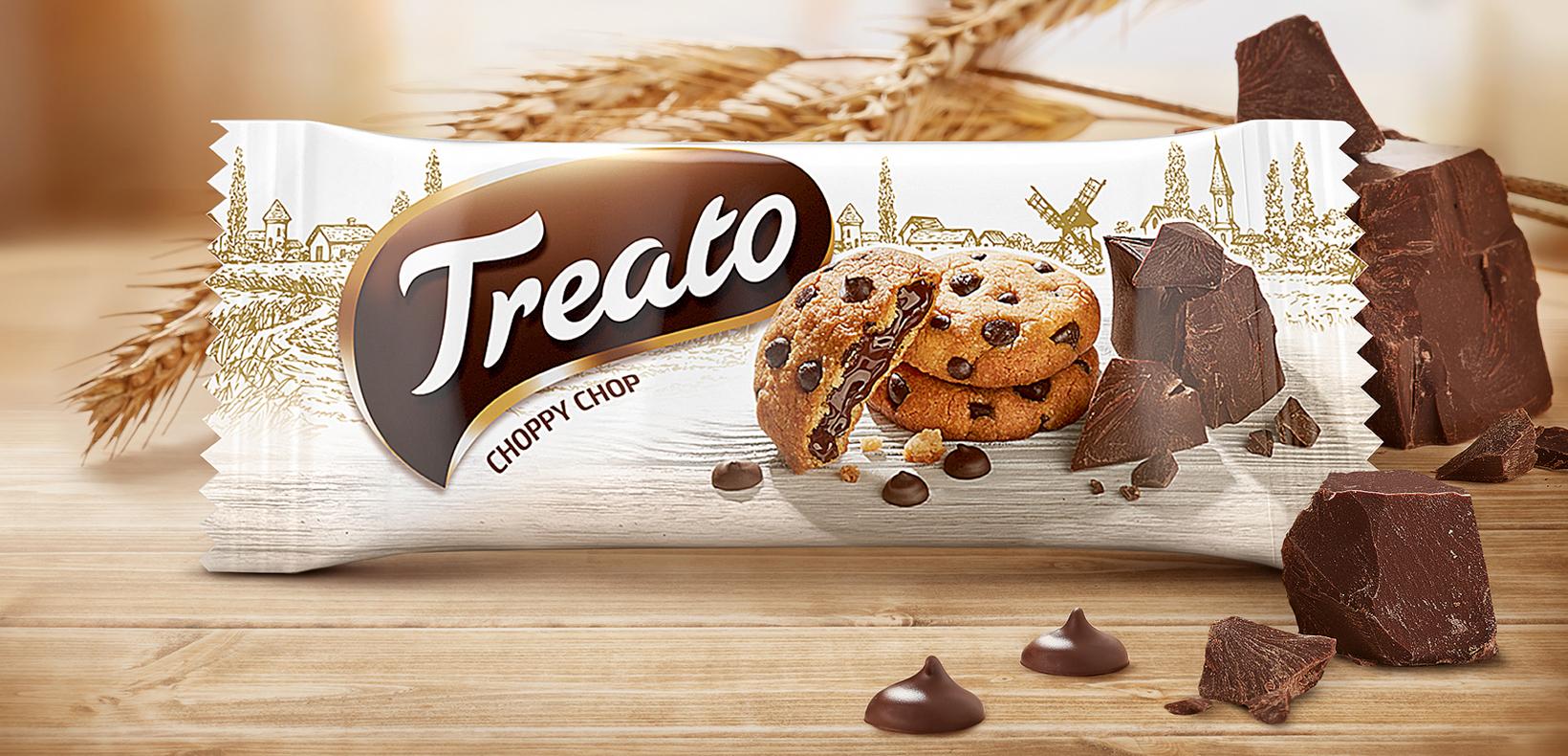 упаковка Treato печенье